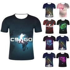 2019 Hot Counter Strike Global Offensive CS GO Gamer T-Shirt 3D  Unisex Tee tops