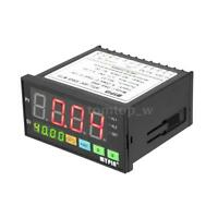 DA8-RRB Digital LED Sensor Meter 2 Relay Alarm Output 0-75mV/4-20mA/0-10A J3Z3
