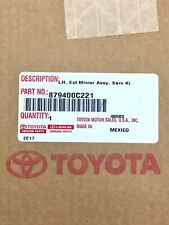 Genuine OEM Toyota 87940-0C221 Driver's Power Towing Mirror Assy 2007-19 Tundra
