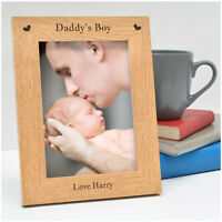 PERSONALISED Christmas Gifts for Daddy New Daddy from Son Baby Boy Photo Frame