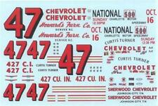 Plastic Performance Products#47 Howards Furn. Co 1966-Curtis Turner Nascar decal