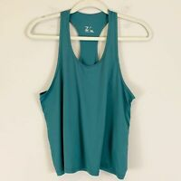 Z by Zella Racerback Mesh Tank Top Jade Green Women's Small NWT