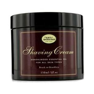 The Art of Shaving 102963 Shaving Cream - Sandalwood Essential Oil