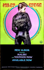 MILEY CYRUS Younger Now 2017 Ltd Ed RARE New Poster +FREE Pop/Rock Poster!
