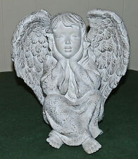 New listing Beautiful Resin Angel Statue For Yard Or Home Decor!