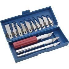 Kit set di lame e taglierino bisturi di precisione 16 PZ pezzi lama in alluminio