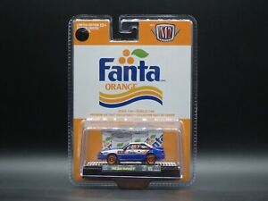 1988 FORD MUSTANG GT FANTA FOX BODY 2021 M2 MACHINES ORANGE CHASE 1/750 A07