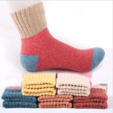 5 Paar Mode Damen Thermosocken Winter Warm Wolle Damenmode Dick Socken set