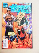 Heroes For Hire 10 & 11 . Deadpool App . Marvel 1998 -   VF