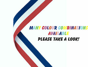 Medal Ribbon for Sports Day/Prize Giving - Various Colours - 2-4-1 Offer