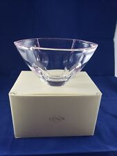 Gift Of Knowledge Pink Candy Bowl 6.75 Inch Full Lead Crystal