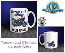 Yamaha FZS600 Fazer Motorbike Personalised Ceramic Mug Gift (MB062)