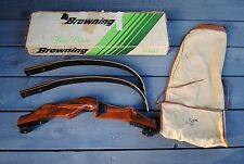 "1970s BROWNING ""BACKPACKER 1"" Takedown Recurve Bow In Original Box"