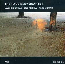 Paul Bley - Paul Bley Quartet [New CD]