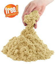 2LB Cool Kinetic Natural Sand Creative Crafts Art Fun Kids Game Refill Package