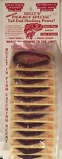 "Kelly Pier Boy Special plastic worm ""rubber worm"" Red Swamp Berry *card of 12"