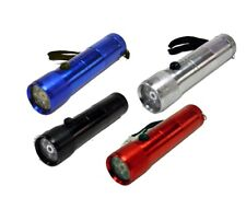 2in1 Portable 8 LED Torch Flashlight Camping Handy Light Lamp +Red Laser Pointer