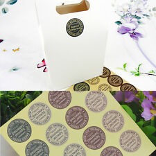 80pcs Special Selected Letter Paper Sticker Label Cupcake Sealing Paste Gift DIY