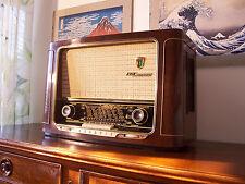 ANTICA_RADIO Grundig 2033W-56 3D Sound Tube Radio Tuberadio Fully Restored! TOP!