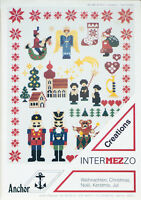 Anchor Cross Stitch Christmas Chart Pattern Intermezzo Creations 9102 Vintage