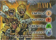 OVERPOWER Team X Chrome promo hero - VR - Marvel vs Wildstorm