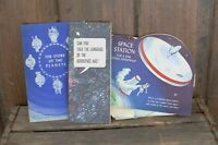 Vtg Hallmark  'Space Station For A Fine Young Astronaut' Pop-Up Book