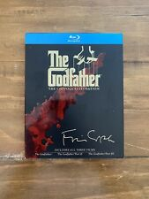 The Godfather Collection - The Coppola Restoration (Blu-ray Disc, 2008, 4-Disc)