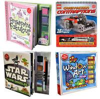 Klutz Children Activity Collection Book Set Lego Crazy, Star Wars, Window Art