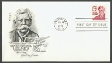 #1305E 15c Oliver Wendell Holmes, Artmaster [2]-Add. FDC **ANY 4=FREE SHIPPING**