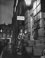 BOWIE ZIGGY STARDUST MINI LAMINATED A4  POSTER HEDDON STREET style 13