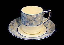 Beautiful Art Deco Royal Doulton Envoy Demitasse And Saucer