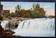 Sioux Falls, SD, Scene at the Falls, postmarked 1913
