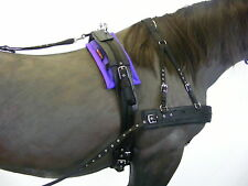 POLYPADS HORSE/PONY DRIVING NUMNAHS/PADS