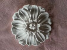 Architecture Flower Pediment Embellishment Wall Ceiling Plaque Rubber Latex Mold