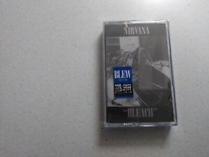 Nirvana bleach blue cassette sealed limited edition