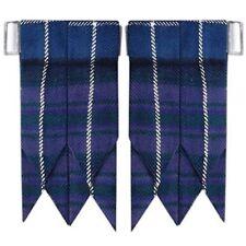 Highland Kilt Hose Socks Flashes Pride Of Scotland Garter pointed/Kilt Flashes