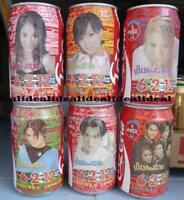 Coca Cola Can 6-2-12 Thailand Singer set of 6 COKE 1995 6 cans set 330ml RARE