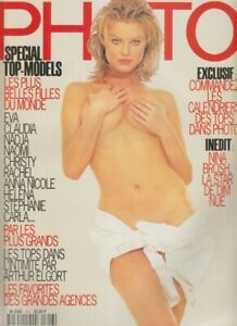 FRENCH PHOTO MAGAZINE - TOP-MODELS SPECIAL ISSUE -  DEC 1994 N316