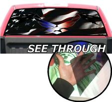 P351 Air Force USAF Eagle Rear Window Tint Graphic Decal Wrap Back Pickup