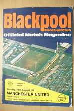 Friendly Match 1981-Blackpool V Manchester United, 24 agosto
