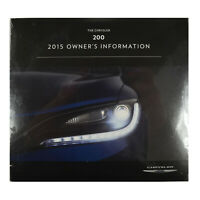 Owners DVD 2015 Chrysler 200 15UF-426-AA Manual Information - DVD ONLY