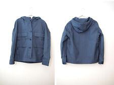 Uniqlo Lemaire Blue Cotton Parka/Jacket Mens Sz M