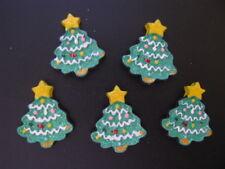 christmas tree cabochons flatback resin embellishment glitter