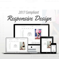 2017 Compliant Mobile Responsive Ebay Auction Listing Template Women's Shoes