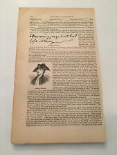 K30) General Edmund Fanning The Regulators American Revolution 1860 Engraving