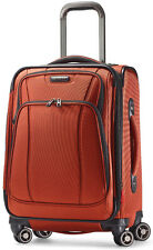 "Samsonite DK3 Collection 21"" Spinner 4 Wheeled Carry On Luggage - Orange Zest"