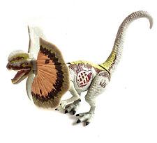 "Jurassic Park World Dilophosaurus  Dinosaur 7"" poseable toy figure with Sound FX"