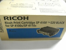 Original Ricoh 407008 402810 407649 CARTOUCHE D'Encre Typ 220 Sp 4100 4110 4250