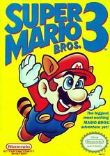 Super Mario Bros 3 Nintendo NES Cartridge Only Cleaned & Tested *Label/Cart Wear