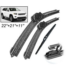 XUKEY Front Rear Windshield Wiper Blades Set For Jeep Grand Cherokee 2013-2020